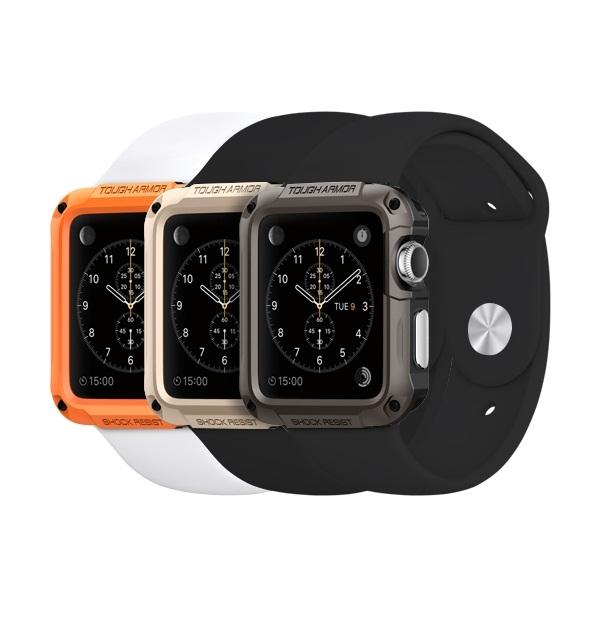 Чехол силиконовый для apple watch 38 mm, черный.